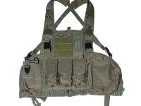 Swiss Arms Chest Rig Vest, OD Green