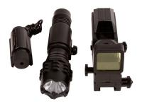 Swiss Arms Optics Accessory Kit, Includes Red Laser, Flashlight & Red Dot Reflex Sight
