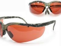 Remington Safety Glasses, Mossy Oak New Breakup Camo Frame, Copper Lenses, Adjustable
