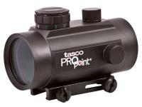 Tasco Pro Point Dot Sight, Red-Green-Black, 5 MOA, Integral Weaver Mount