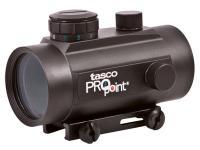 Tasco Pro Point Dot Sight, Red-Green-Black, 5 MOA, Integral Weaver Mount