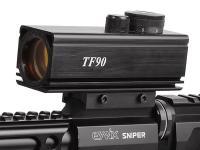 Tech Force TF90 Red Dot Sight, 3 MOA, Rheostat, 11mm & Weaver Mounts