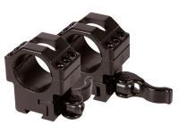 UTG Max Strength Quick-Detach 1 inch Rings, Medium, 9-11mm Dovetail