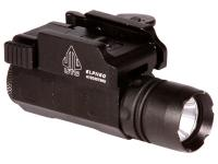 UTG Tactical Pistol Flashlight, 90-Lumen CREE Q5 LED, Quick-Detach Weaver/Picatinny Mount