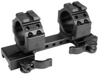 UTG Quick-Detach 1-Pc Mount, Weaver/Picatinny, 30mm Rings, 4.72 inch Long, Matte Black