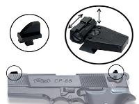 Walther Adjustable Sights for the CP88 Pistol