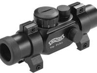 Walther Top Point Sight 1 (TPS), 11 Brightness Levels, Weaver Rings, open box