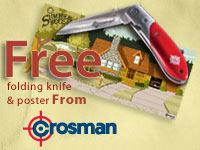 Crosman knife and poster - Summer House Special