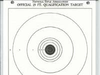 Crosman 25 Air Rifle / Air Pistol paper targets