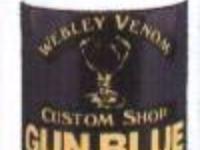 Webley & Scott Ltd. Webley Gun Blue  inchFirst Class inch