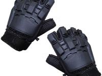RAM Sup Grip Shooting Gloves, Large, Exposed Fingertips