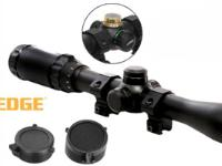 Leapers 5th Gen 3-9x32 Rifle Scope, Illuminated Mil-Dot Reticle, 1/4 MOA, 1 inch Tube, 11mm Dovetail Rings