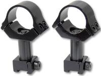 B-Square Refurbished Ultra High 2-piece adjustable scope mount.  1 inch post.  1 inch tube. To use for 50mm+ telescopes.