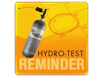 Air Venturi Hydro-Test Reminder - Scuba and Carbon Fiber Tanks