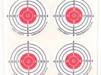 Champion 2 inch Bullseyes, Visible Impact, Self-Adhesive, 40-Pack