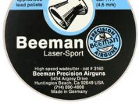 Beeman Laser Sport .177 Cal, 8.09 Grains, Wadcutter, 500ct