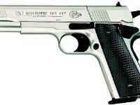 Colt 1911 nickel Air gun