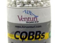 Air Venturi CQBBs 6mm airsoft BBs, 0.30g, 2700 rds, white