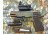 Tanfoglio 1911A1 with Upgrades - Great looking gun.
