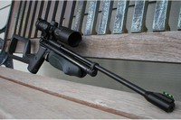Slinging Lead's 1377 - Crosman American Classic 1377c converted to .22 caliber, with 2289 parts.