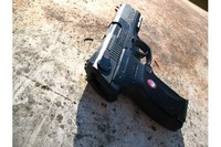ruger p345 - just the ruger in the sun