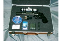 Dan Wesson CO2 BB Revolver - Heres a photo of mine with a Tasco Red Dot Scope...What A Blast to Shoot....