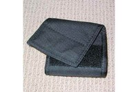 Crosman Ammo Pouch - A view from the rear with the belt keeper exaggerated.