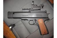 MarkLondons Beeman P1 .20 cal - BKL Adaptor and BSA Multi-Reticle Sight pic 1