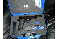 Sig Sauer P226 X-Five Open Combo - For me, this is the best BB pistol in the market.  In fact, I purchased another one, the P226 X-Five without the compensator.