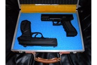 Gamo PT-85 CO2 Pistol - This is one of my CO2 guns too, a pellet gun.  It's cool because the barrel is rifled and it's accurate.  I purchased all of my CO2 guns at Pyramid Air except the Umarex SA177 which I purchased, of course, at Umarex USA.