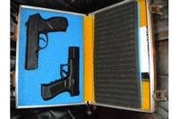 Gamo PT-85 CO2 Pistol - My Gamo PT-85 and Umarex SA-177 pistols.