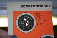 RWS 48 Striker - 7.9 aimed dead on and 10.5 aimed one mill low