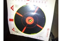 3-12x44AO SWAT + SCAR17S - 10 shot group from 50yds at an indoor range. Earlier in the week I had dismounted the scope to clean the rifle. NO ZERO SHIFT!! Very impressed with the price-performance ratio of this scope so far.