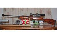 My RWS 350 Mag - Super hard hitting rifle