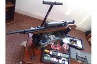 Plano Green Camo Shooters Case - Small -  Marauder with Plano case -Small