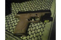 M&P 40 by Umarex - My M7P equipped with a Crosman laser
