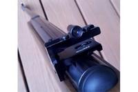 Williams 5D-AG rear aperture - Mounted on my on Benjamin Titan GP .22 pellet rifle
