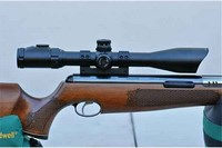 Air Arms TX200 MkIII - The best springer I ever try and super super accuracy, with my UTG 4-16x44 AO SWAT AccuShot Rifle Scope, EZ-TAP, Illuminated Mil-Dot Reticle, 1/4 MOA, 30mm Tube.