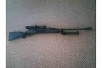 blackhawk with Dragonclaw bipod - bipod unfolded