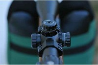 UTG 4-16x44 AO SWAT AccuShot Rifle Scope - One of the best scopes I ever try mounted on my AA TX200 MK3.