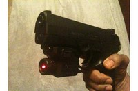 Laser - Storm with a Crosman 0423 Laser