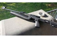 IZH 61 Baikal - I was plinking some cans out to 30 yards with this rifle at the time. Excellent little gun. If you follow through, it's impossible to miss with this little thing, as long as you use good pellets.