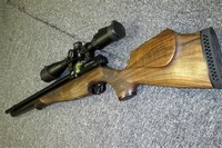 Yes, I fnally got it! - Best PCP Air Rifle ever made in my humble opinion. Superb quality, shoots awesome strait out of the box. Topped it with 4-16x46 UTG Leapers scope, which complements the quality of this rifle.  The walnut stock is beautiful. The rifle is light and shoulders superbly. Spend the money, you won't regret it.