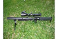 My Talon SS - Talon SS with Centerpoint 3x-9x-50 Scope and M-16/Saw bipod