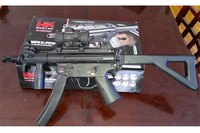 mp5k with utg red dot  - Lots of fun
