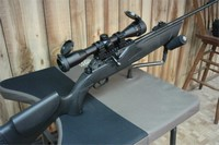 Hammerli .22 850 Air Magnum with scope - Hammerli .22 850 Air Magnum rifle with Leapers UTG 4X32 AO rifle scope