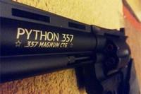 Python - Barrel close-up