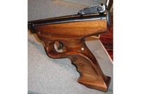Walnut Stock/Grip - Handmade Right-hand Target style Grip