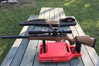 tx200 mk3 and hawke sidewinder 30 - very solid gun and awesome  scope