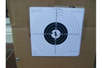 12 string - shot ten at 25 ft with open sights then came back and shot one low one left just to varify the accuracy WOW